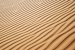 Beautiful wave pattern in the desert sand