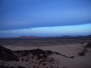 Blaue Stunde in der Wüste
