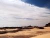 Stimmungsvoller Himmel über der Wüste